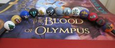 Percy Jackson camp half  blood necklace, Blood of Olympus edition