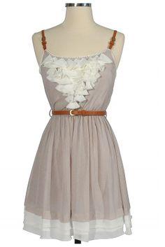 Country Dress | #Fashion