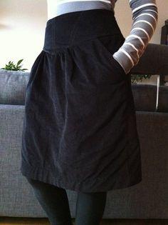 Sewaholic cresent skirt