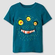 Toddler Boys' Short Sleeve T-Shirt Cat & Jack™ - Teal