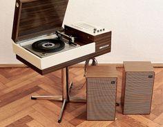 1970s Telefunken Rondo Stereo 101 turnable with radio tuner