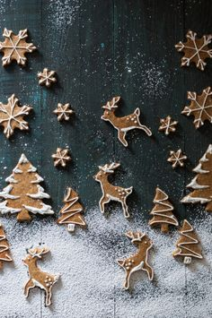 Try our Christmas advent biscuits recipe. Make super simple homemade gingerbread Advent biscuits for Christmas with this easy Christmas cookie recipe. Christmas Mood, Noel Christmas, Merry Little Christmas, Christmas Desserts, Christmas Treats, Christmas Baking, Christmas Cookies, Christmas Fashion, Reindeer Christmas