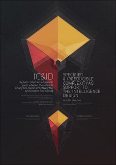 INTELLIGENCE DESIGN by Metric72 , via Behance