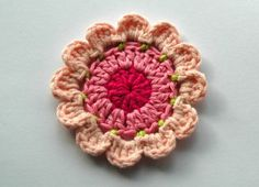 AnnieDesign on Etsy has some lovely crocheted motifs and flowers