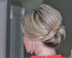 Hair tutorial: Sideways French Twist - Lifestyle NWS
