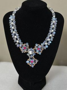How to Make Delicate Beading Pendant Necklace with Pearl and Glass Beads - Pandahall.com