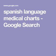 spanish language medical charts - Google Search