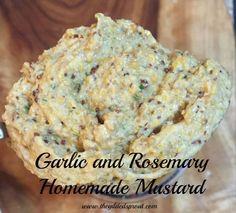 Garlic Rosemary Mustard