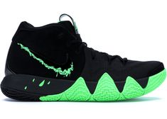 Buy and sell authentic Nike Kyrie 4 Halloween shoes and thousands of other Nike sneakers with price data and release dates. Nike Kd Shoes, Running Shoes Nike, Sneakers Nike, Men's Shoes, Kyrie Irving Shoes Black, Zapatillas Nike Basketball, Jordan Basketball Shoes, Basketball Stuff, Jordans Girls