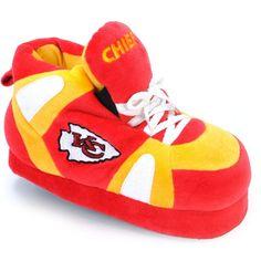 Comfy Feet NFL Sneaker Boot Slippers - Kansas City Chiefs, Size: 2X Large (Mens 12 - 14/Womens 13 - 15) - KCC012X