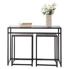 Love this console to go behind a sofa or something. Instant group Seating