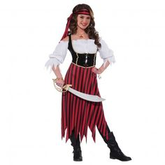 Teen Maiden Pirate Costume
