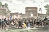 Guerres napoléoniennes - Campagne d'Italie - Napoléon Bonaparte entre dans Milan (15 mai 1796)