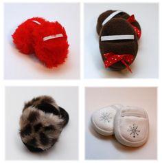 slippers, LibertyJane patterns