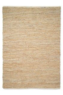 Natural floor rug woven in jute and blue / jute and grey leather in a choice of two sizes to suit your living space. *Vacuum or sweep regularly.*Clean spills immediately.*Never rub a spill instead blot with a dry absorbent white cloth or white paper towel. *Always test cleaning solutions in an inconspicuous area first. *If a stain cannot be removed seek specialist advice. *Due to the nature of this product it will shed fibres when new.*Always use a scissors to trim loose threads - do not…