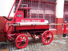 Fire Engine Appliances -Scottish Fire and Rescue Hadley Simpkin & Lott Manual Fire Pump Heritage Trust Appliance – Museum & Heritage Centre Greenock