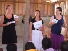 Volunteers in Ghana! Hard at work, UBELONG volunteers are the best of the best. #VolunteerAbroad