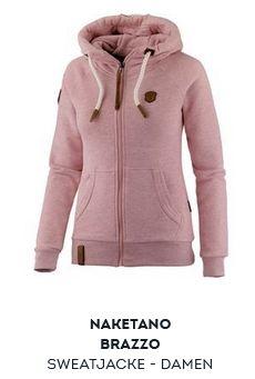 Maui Wowie Sweatshirt Damen rosa im Online Shop von
