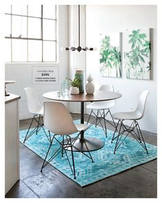 Living Spaces Spring 2018 Page 116 117 In 2020 Modern Dining