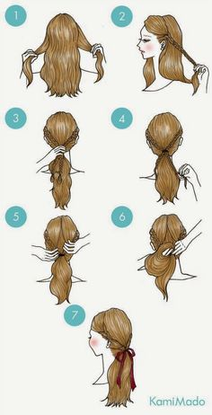 Braids make hair grow. Personally I would answer no to this question. When we remove our additions, we often see a net regrowth. So we think it's thanks to the braids! Certainly the protective hairstyles of this type allow our… Continue Reading → Cute Simple Hairstyles, Pretty Hairstyles, Braided Hairstyles, Hairstyle Ideas, Drawn Hairstyles, Wedding Hairstyles, Hairstyle Braid, Braided Ponytail, Hairdos