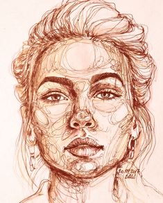 Make Your Art Successful – Create A Story With Your Drawing And Painting – Interesting Decor Art Inspo, Inspiration Art, Sketchbook Inspiration, Sketchbook Ideas, Drawing Expressions, Drawing Faces, Art Faces, Paintings Of Faces, Man Face Drawing