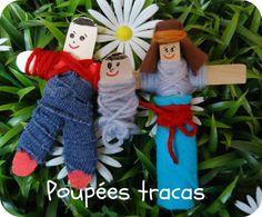 poupées tracas de ma grande et plein de jolis trucs pour la classe