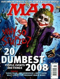 MAD magazine cover Batman