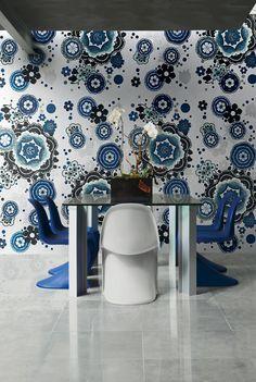 Bisazza Mosaics- Bloem Blu