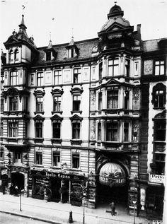 Das Apollo-Theater in der Friedrichstraße. Berlin, 1907. o.p.