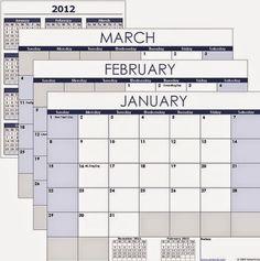 Raj Excel: Excel Calendar Template free download