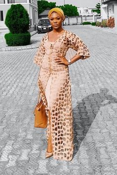 If there is one element that is always present in nigeria fashion,it is glorious Aso Ebi styles. African Wedding Attire, African Attire, African Wear, African Women, African Inspired Fashion, African Print Fashion, Africa Fashion, African Lace Dresses, African Fashion Dresses