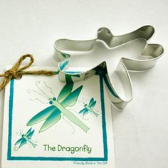 Cookie Cutters, Dragonfly Cookie Cutter for Camping, Picnics, Backyard Gatherings, Summer Cook Outs. Garden Party, BIrthday, Bugs, Insects, Boys
