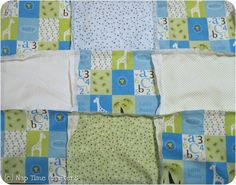 30 Minute Rag Quilt Tutorial - Peek-a-Boo Pages - Sew Something Special