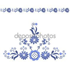 Couture, Embroidery, Floral, Illustration, Pattern, Free, Decor, Painted Walls, Paintings