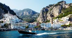 Italy's Amalfi coast - of COURSE Fathom would feature Amalfi right when I'm getting all wanderlusty....
