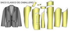Patrones o moldes de prendas clasicas o ropa clasica de vestir