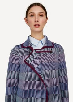 Oleana is an award winning fashion brand from Norway. We produce knitted garments, at our own factory in Ytre Arna, Norway. Fair made textiles. Knitting Machine Patterns, Classic Collection, Fashion Brand, Knitwear, Shirt Dress, Norway, Cardigans, Mens Tops, English