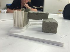 Concrete mass model