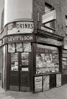Frederick Wilfred - Sidney Street London 1950s