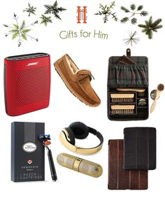 My Favorite Luxury Christmas Gifts for Him - Hadley Court blog post - from blog founder, Leslie Hendrix Wood