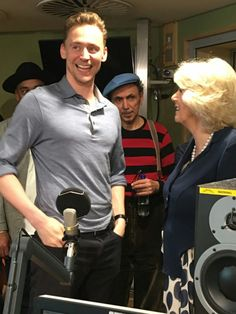 Tom Hiddleston and the Duchess of Cornwall