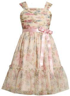 Soft Pink Floral Shirred Dress Size 5 Bonnie Jean,http://www.amazon.com/dp/B0077YTG0C/ref=cm_sw_r_pi_dp_xz2urb7A4AB4429A