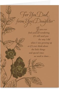Daughter to father birthday cards the best daughter of 2018 daughter to father for your dad ecards greeting cards 123 bookmarktalkfo Choice Image