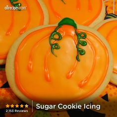 "Sugar Cookie Icing | ""Look no further - this is the only cookie icing recipe you will ever need! Applying the icing takes some practice, but they are quite beautiful when done properly!"""