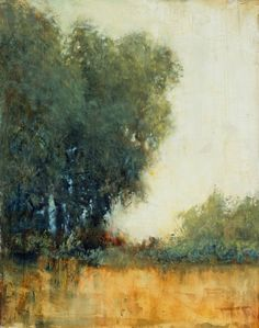 "Saatchi Art Artist Don Bishop; Painting, ""Shade Trees 8.14.15"" #art"