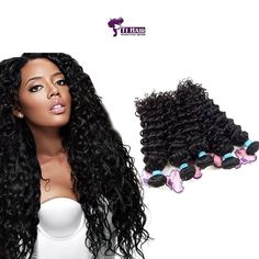 Deep Curly Wave Hair Curtains 4 piece set at Wholesale Rate - - Buy Hair Extensions, Deep Curly, Wave Hair, Indian Hairstyles, Remy Human Hair, Virgin Hair, Crochet Necklace, Waves, Curtains