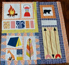 Camping Quilt inspo