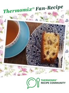 Dotty's Lemon and Sultana Tea Loaf by thermifyme. A Thermomix <sup>®</sup> recipe in the category Baking - sweet on www.recipecommunity.com.au, the Thermomix <sup>®</sup> Community.