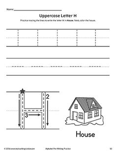 Spelling Activities Worksheets Pdf Uppercase Letter E Prewriting Practice Worksheet  Pre Writing  3 Grade Math Worksheets Printable with Cause And Effect Worksheets Free Uppercase Letter H Prewriting Practice Worksheet Worksheet On Colours Word