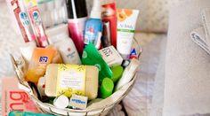 guest room welcome basket